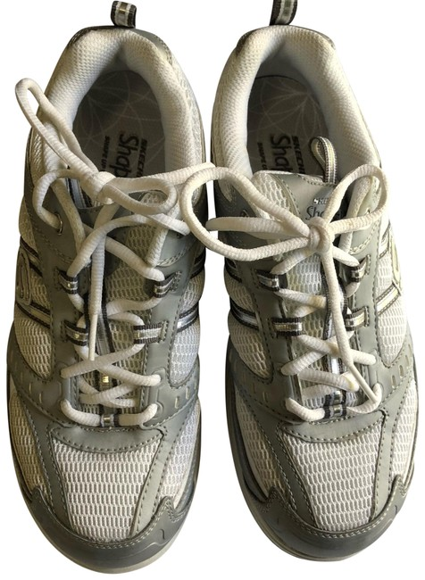 Item - Silver/White Shape-ups Fitness 11814/Slw Sneakers Size US 7.5 Regular (M, B)