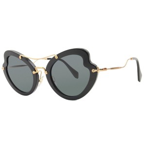 998356bb76af Miu Miu Butterfly Style Unisex SMU11R 1AB 1A1 Gray Color Lens Sunglasses