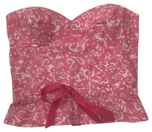 Plenty by Tracy Reese Top Pink paisley pattern