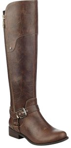 Guess Knee High Harson Brown Boots