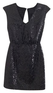 H&M Sequin Bachelorette Party Backless Short New Years Bachelorette Dress