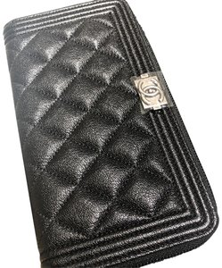 972367279022 Added to Shopping Bag. Chanel Chanel Boy Zip Around Long Wallet