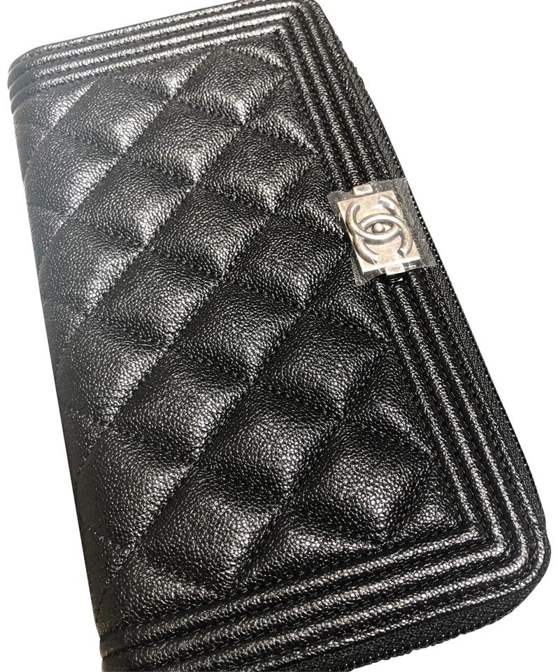 d4efc619a5ab Chanel Chanel Boy Zip Around Long Wallet Image 0 ...