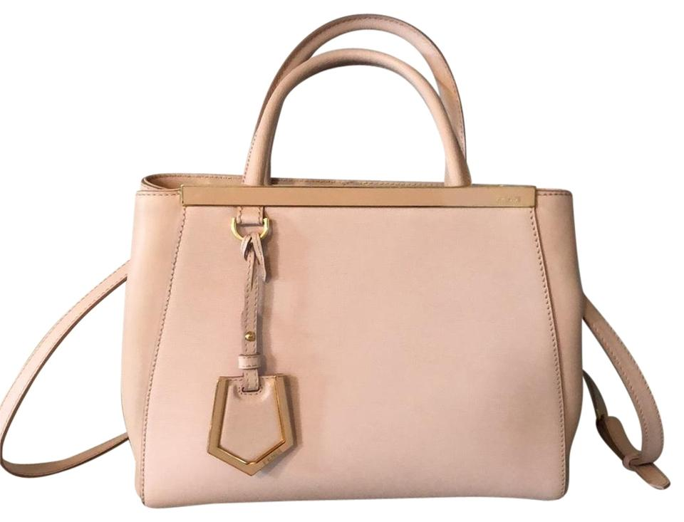 a9c4fd37fb6d Fendi Petit 2 Jours Rosa Leather Cross Body Bag - Tradesy