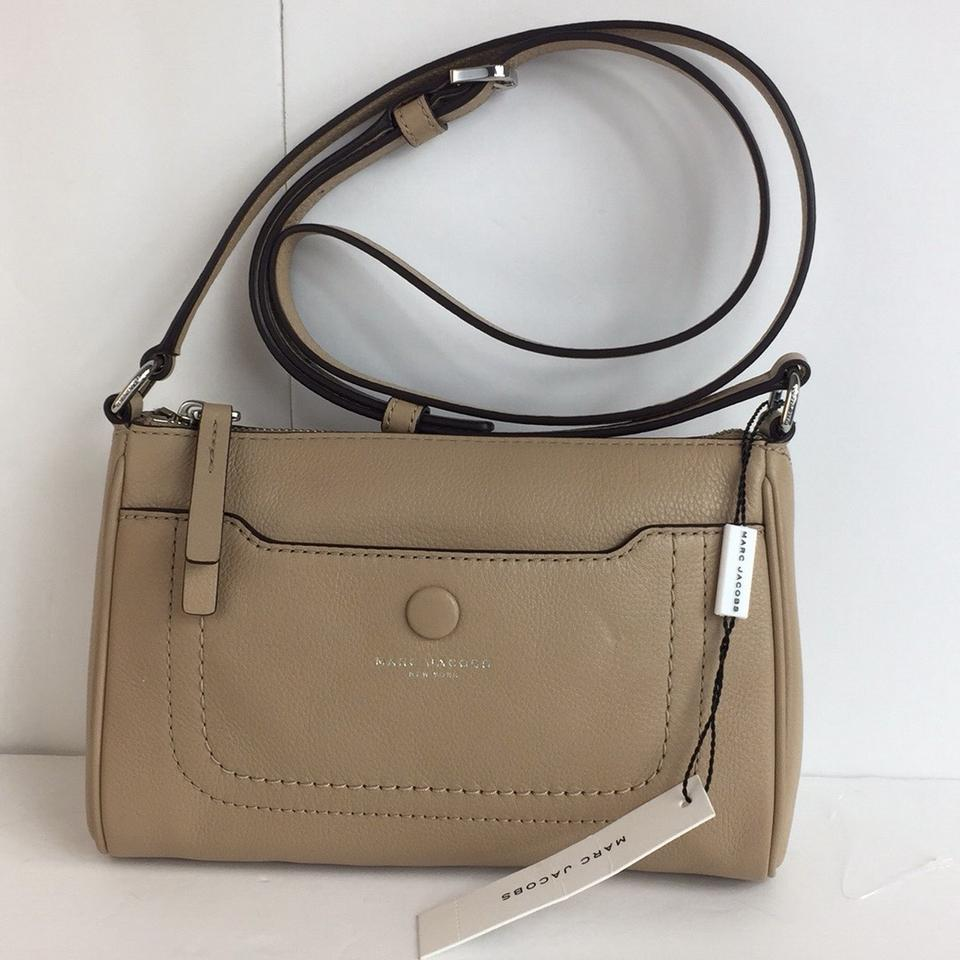 online shop special promotion offer Marc Jacobs New Empire City Sandstone Leather Cross Body Bag 45% off retail