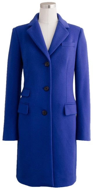 Item - Blue Stunning Wool with Thinsulate Coat Size Petite 8 (M)