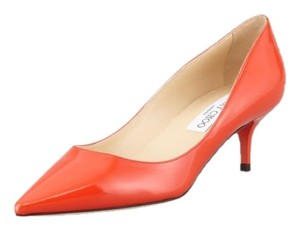 Jimmy Choo orange Pumps