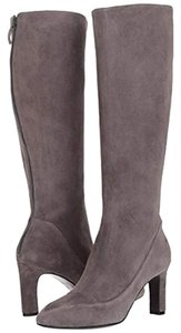 Cole Haan Suede Leather Tall Gray Boots