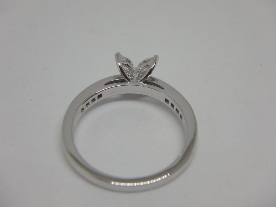 eaf6267e8 Tiffany & Co. Platinum and Diamond Victoria Size 6 Ring - Tradesy
