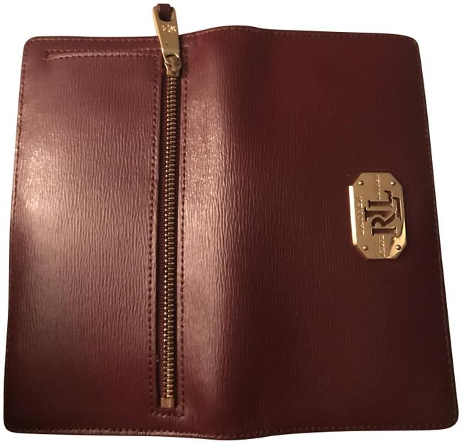 Item - With Wallet To Match Burgundy Camel Leather Satchel