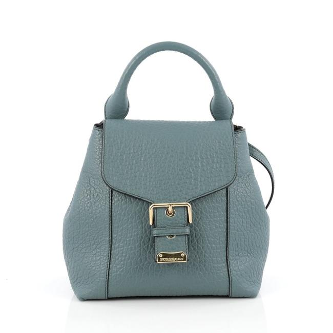 Item - Belmont Convertible Celadon Blue Leather Backpack