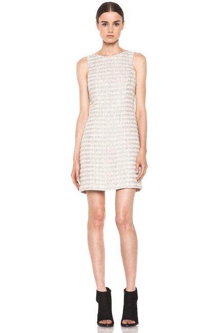 Theyskens' Theory Drise Flancy Textured Dress
