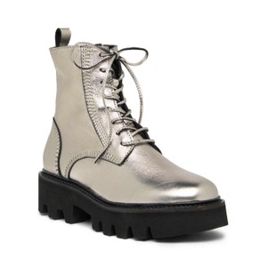 Jeffrey Campbell Silver Boots