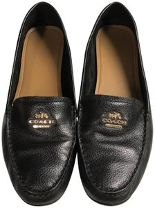 Coach Loafers Black Flats