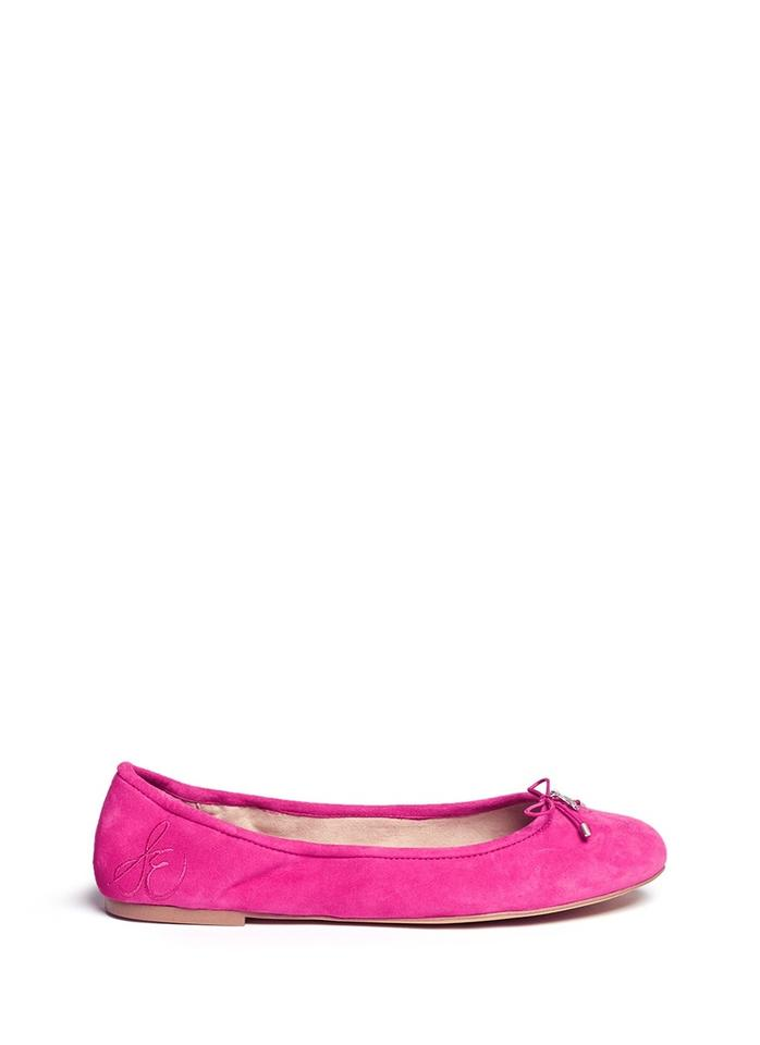 88d125facbe3cb Sam Edelman Pink Felicia Suede Leather Ballet Flats Size US 7 ...