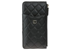 Chanel Chanel 18B Black Caviar Leather Cell Pouch NWT