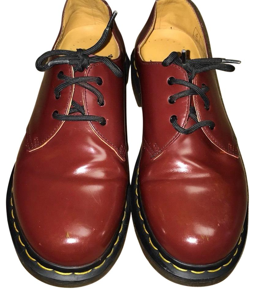 9277b0217ff6 Dr. Martens Light Burgundy Doc Loafers Flats Size US 10 Regular (M ...