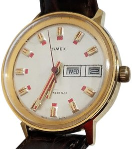 Timex Vintage Timex Wind Up Watch Gold Plated