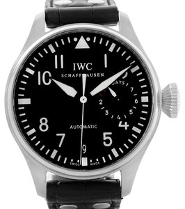 IWC IWC Big Pilot Automatic Stainless Steel Black Dial Mens Watch IW500901