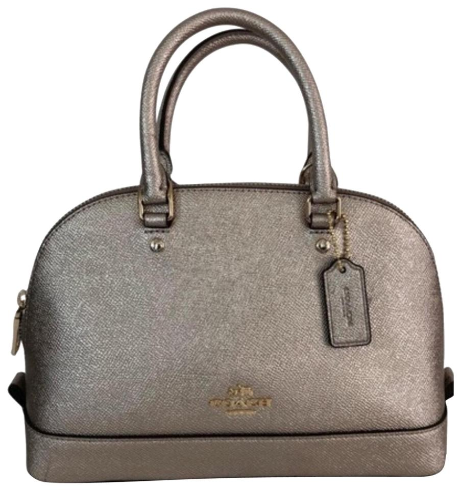 98431b18999d Coach Sierra Mini Crossgrain Leather Satchel - Tradesy