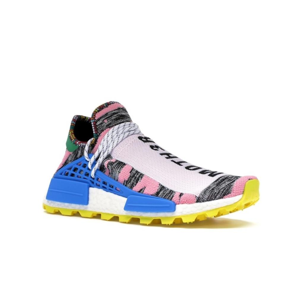Bottom Sneakers And Yellow Pharrell Williams Pink Upper Size White OkuXiPTZ