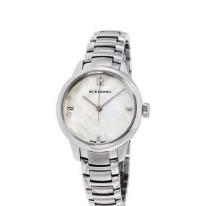 Burberry Burberry Classic Mother of Pearl Watch BU10110