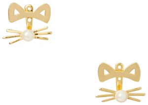 Kate Spade Kate Spade Out West Cat Ear Gold earring jackets