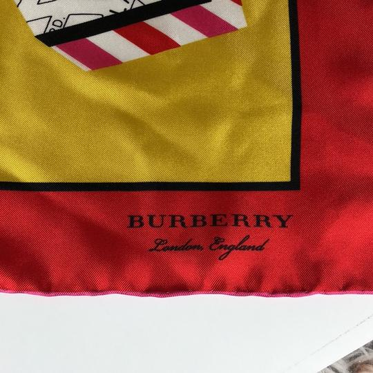 Burberry Burberry Silk London Graphic Square Scarf Image 1