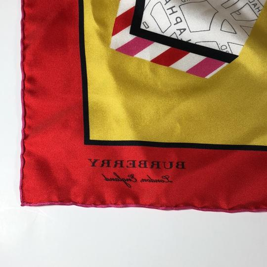 Burberry Burberry Silk London Graphic Square Scarf Image 3
