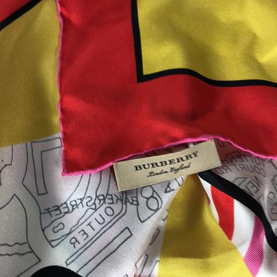 Burberry Burberry Silk London Graphic Square Scarf Image 4