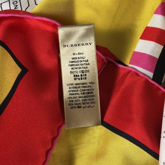 Burberry Burberry Silk London Graphic Square Scarf Image 5