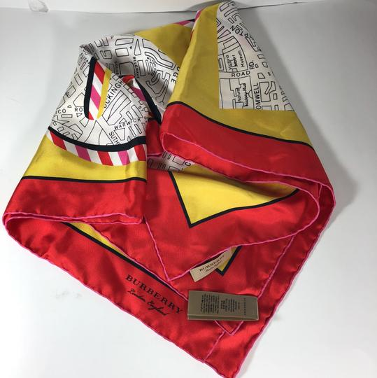 Burberry Burberry Silk London Graphic Square Scarf Image 6