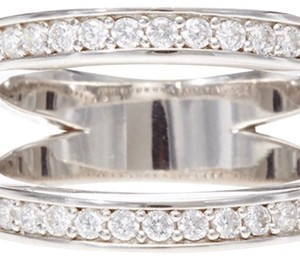 Fallon Pavé-Crystal Double Band Ring