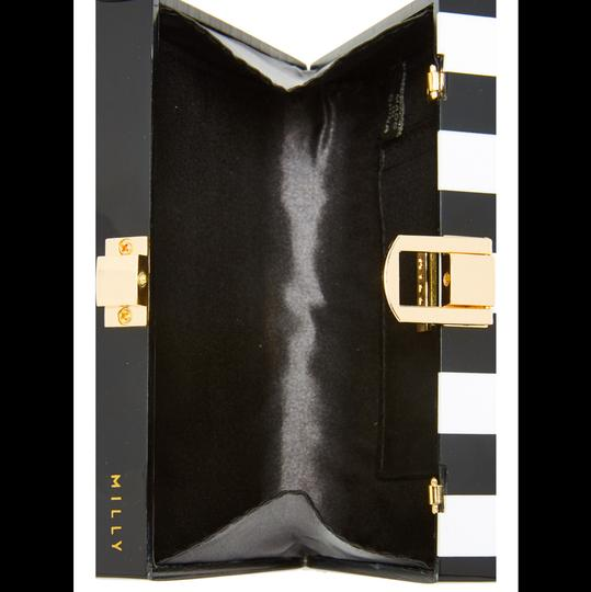 MILLY Chic Black, White & Pink Clutch Image 3