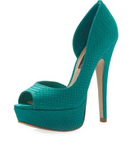 Steven by Steve Madden Teal Platforms