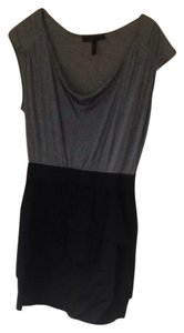 BCBGMAXAZRIA short dress Black and Grey on Tradesy