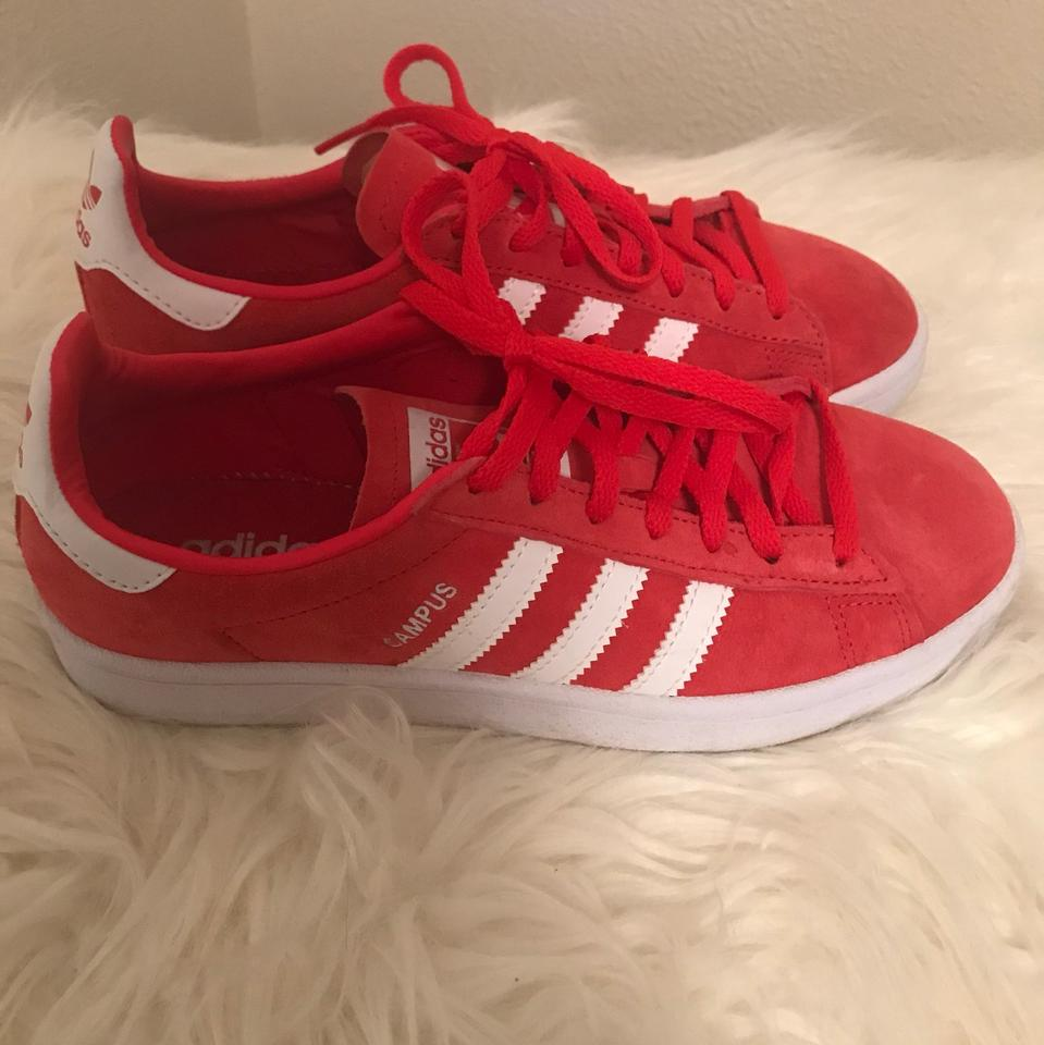 best service 3bb08 00a4d adidas Ray Red White White  campus  Sneaker (Women s) Sneakers Size ...