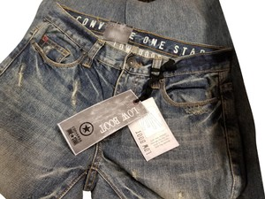 Converse Boot Cut Jeans-Distressed