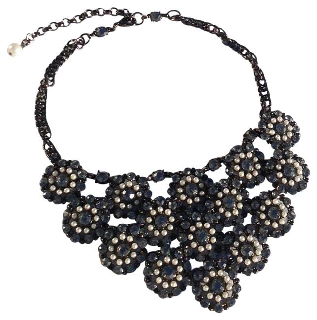 Item - Gunmetal Black with Caviar Pearls Vintage Statement Choker Necklace