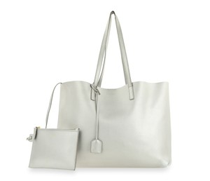 Saint Laurent Tote in Silver