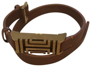 Tory Burch Tory Burch for Fitbit Leather Wrap Bracelet
