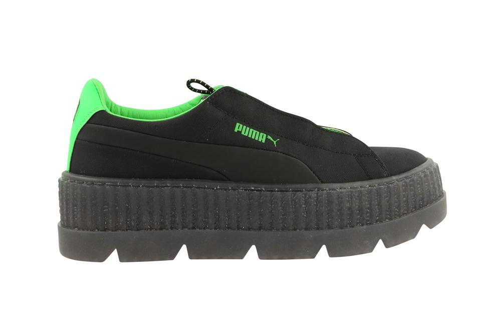hot sale online bef7e 69158 FENTY PUMA by Rihanna Black Cleated Creeper Platforms Size US 8 Regular (M,  B)