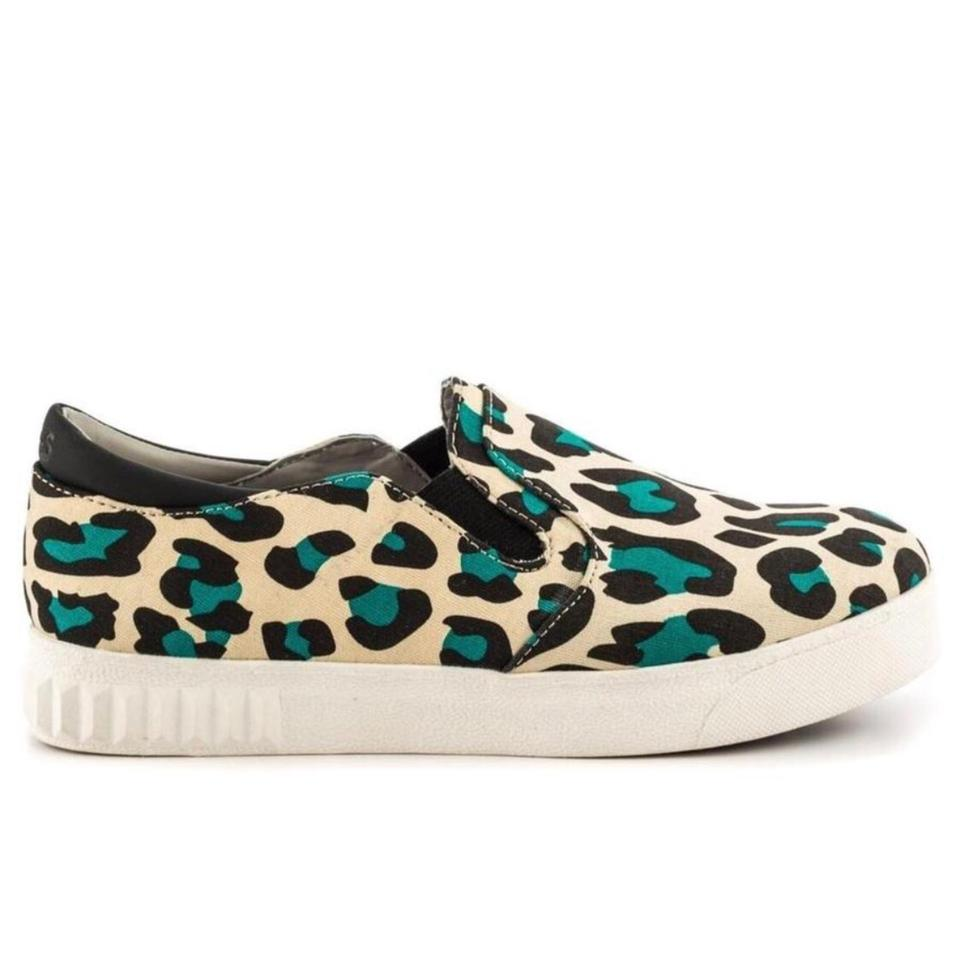 6bb59406760cbc Circus by Sam Edelman Turquoise Leopard Cruz Sneakers Sneakers Size ...