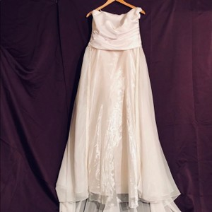 Aspeed White Gown Formal Wedding Dress Size 24 (Plus 2x)