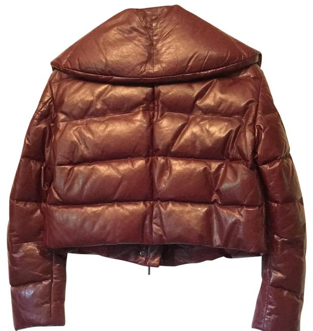 Item - Red Burgundy Puffer New Jacket Size 4 (S)