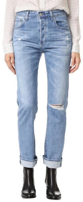 Item - 20 Years Carved Stone Distressed The Sloan Tomboy Boyfriend Cut Jeans Size 28 (4, S)