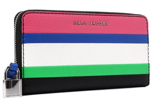 Marc Jacobs Marc Jacobs The Grind Leather Colorblocked Standard Continental Wallet Image 1