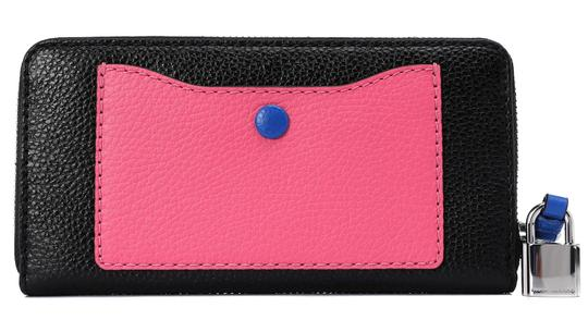 Marc Jacobs Marc Jacobs The Grind Leather Colorblocked Standard Continental Wallet Image 2