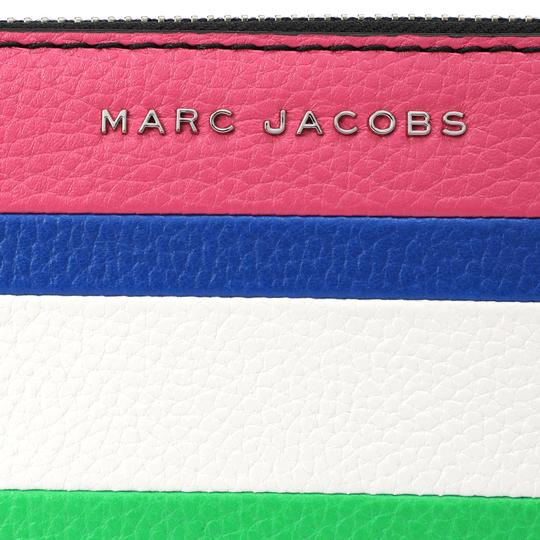 Marc Jacobs Marc Jacobs The Grind Leather Colorblocked Standard Continental Wallet Image 3