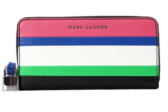 Marc Jacobs Marc Jacobs The Grind Leather Colorblocked Standard Continental Wallet Image 5
